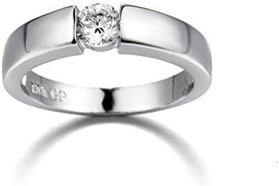 Rigmookj 指輪 レディース ピンクゴールド 指輪 レディース 人気 華奢ダイヤモンド シルバーリング 指輪婚約 リング