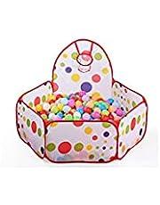 خيمة العاب ملونة قابلة للطي تضم حوض كرات للاطفال Sz996