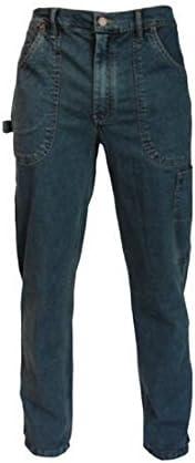 Siggi Pantalones De Trabajo Pantalones Vaqueros Elasticos Algodon 70 Poliester 27 Elastano 3 Color Azul Cinque Bolsillos Amazon Es Bricolaje Y Herramientas