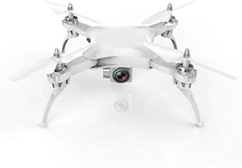 YSYYSH ドローンリモートコントロール航空機、HD空撮、折り畳み式、ドロップ耐性、4軸航空機 ミニドローン (Color : White)