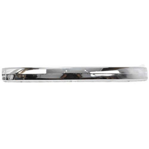 Front Bumper Compatible with MAZDA PICKUP 1986-1993 Chrome 2WD