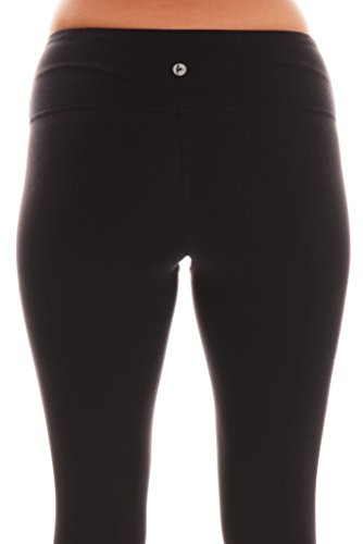 928f2fbd867d31 SHOPUS | 90 Degree By Reflex Power Flex Yoga Pants - Black - Medium