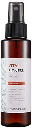 [SWISSPURE] Vital Fitness & Body Mist (Garden Breeze) Increase Vitality & Before Fitness (Made w/orange & lavender oil) 100ml
