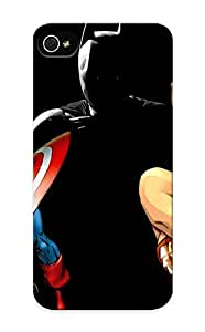 Dionnecortez Hot Tpye Dccomics Wonder Woman Dc Superhero Girl Batman Captain America Case Cover For Iphone 5/5s For Christmas Day's Gifts