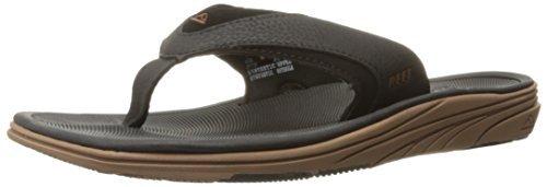 Reef Men's Modern Sandal (14 D(M) US/47 EUR, Black/Brown)