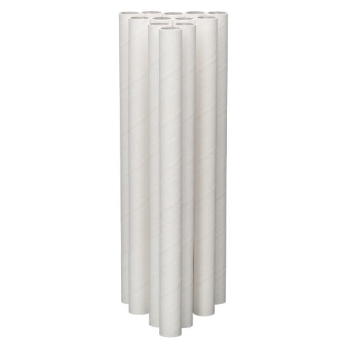 Lady Mary / Ateco 10-Inch Parchment Coated Paperboard Dowels, 12-Pack