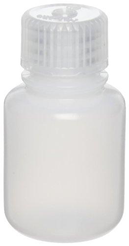 Nalgene 2002-0001 Narrow-Mouth Bottle, HDPE/PP, 30mL (Pack of 12) (Travel Nalgene Container)