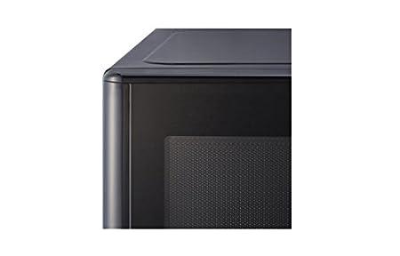 LG MH6382BTS - Horno microondas con función de horno y grill, 1000 W, color negro y gris