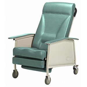 Deluxe Wide 3-Position Recliner, Jade (Single [Each-1])