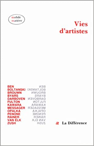 Vies d'artistes pdf, epub ebook