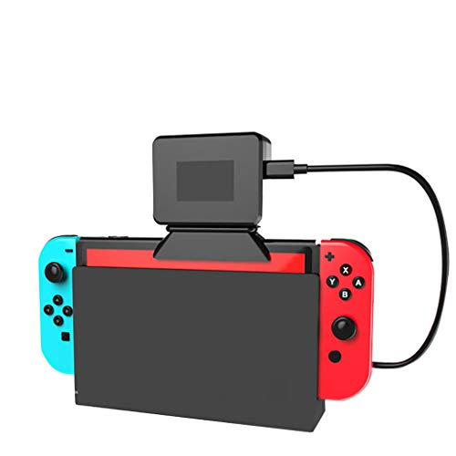 ❤️MChoice❤️ Main Unit Radiator Base with Cooling Fan for Nintendo Switch Game Heat Sink