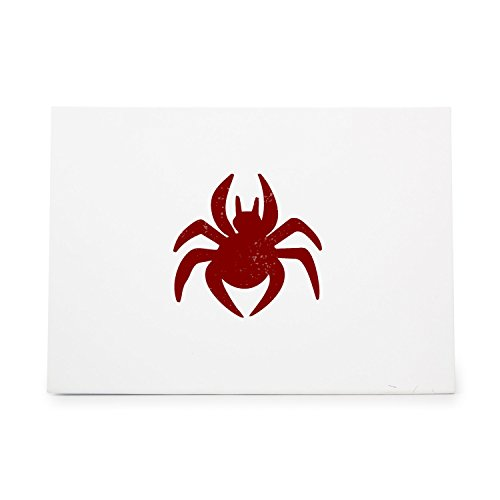 Spider 466 Rubber Stamp Shape great for Scrapbooking, Crafts, Card Making, Ink Stamping - Rubber 466