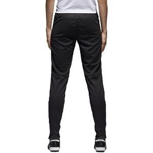 adidas Womens Tiro17 TRG Pant, Black/Silver, Medium