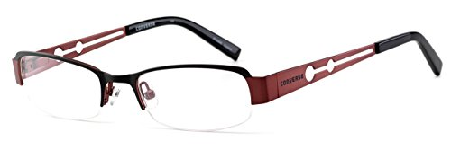 Converse Im Telling Small Kids Fit Lightweight & Comfortable Metal Designer Reading Glasses in Black 0.25