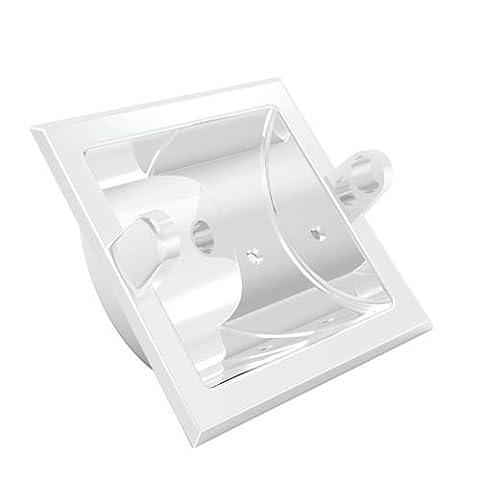 Newport Brass 10-89 Annabella Recessed Tissue Holder, Polished Nickel - Nickel Recessed Toilet Paper Holder