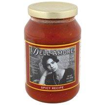 Dell Amore, Spicy Marinara Sauce, 12/16 Oz by Dell