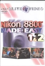 Nikon 8800 Made Easy (Tutorial DVD) 8800 Video