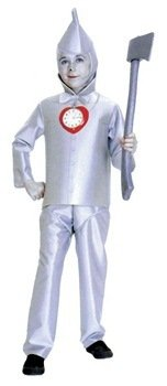 Tin Man Child Costume Size 4-6 (Girl Costumes For Men)