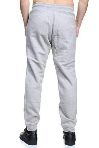 Uomo Pant Trefoil Grigio Tuta Pantaloni Adidas n5IwxR5
