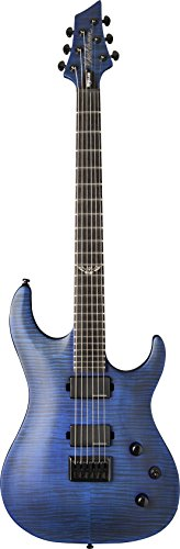Washburn 6 String Solid-Body Electric Guitar, Trans Blue Matte (PXM200AFTBLM-D) ()