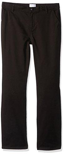 The Children's Place Big Girls' Uniform Pants, Black 43302, 16
