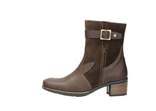 Wolky Comfort Stiefel 00934 Dalton 50300 braun geöltes Leder