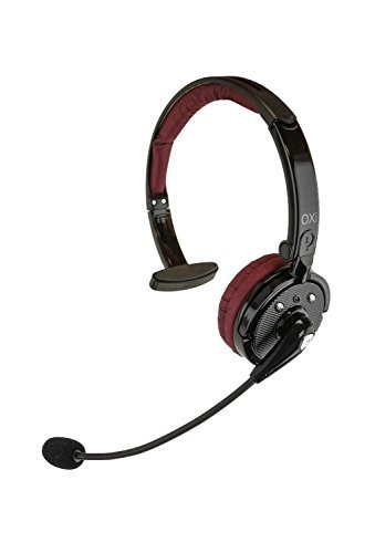 Oxi Hands-Free Bluetooth Headset – Noise-Cancelling Over Ear Headphones with Built-In Microphone – Lightweight, Adjustable Comfort Ideal for Traveling, Work Calls, Trucking and Construction Work