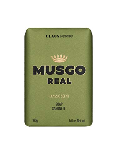 (Musgo Real Men's Body Soap, Classic Scent, 5.6 Ounce)
