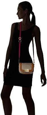 Tommy Hilfiger Violet Jacquard Saddle Bag