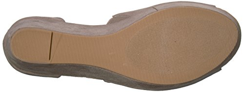 by CL Pebble Wedge Laundry Women's Suede Chinese Sandal Dara Taupe RSqdv