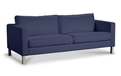 Funda para IKEA karlstad 3er SYLT sofá en azul marino de ...