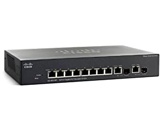 Cisco SG 300-10P (SRW2008P-K9-NA) 10-Port Gigabit PoE Managed Switch (B0041ORN92)   Amazon price tracker / tracking, Amazon price history charts, Amazon price watches, Amazon price drop alerts