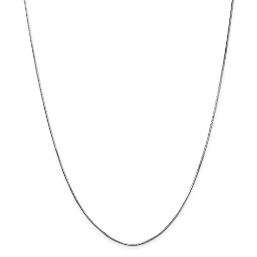 Octagonal Snake Chain - ICE CARATS 14kt White Gold 1mm Octagonal Snake Chain Necklace 16 Inch Pendant Charm Fine Jewelry Ideal Gifts For Women Gift Set From Heart