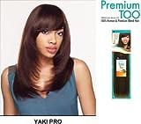 Premium Too Yaki Pro 100% Human Hair Blend 2 Packs Deal!! (10'', 1B)