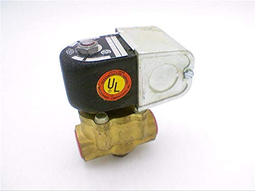ALCO CONTROLS 222CA-1/2-B-1/2-G-120 Solenoid Valve Pipe: 1/2IN, Brass, ORFICE: 1/2, Coil: 120/60, ()