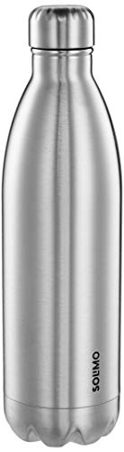 Amazon Brand - Solimo Double Walled Insulated Stainless Steel Flask (1000 ml) (B07P5XLW89) Amazon Price History, Amazon Price Tracker