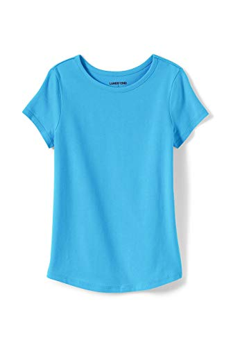 Lands' End Girls Plus Solid Knit Tee
