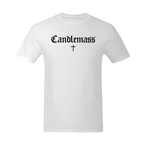 Youranli Men's Candlemass Black Logo T Shirt 2XL