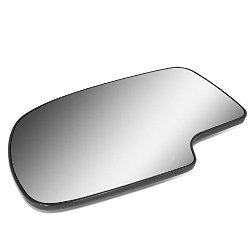 Driver/Left Side Door Rear View Mirror Glass Lens Replacement for 2000-2006 Chevy Silverado/Tahoe/GMC Sierra/Yukon ()