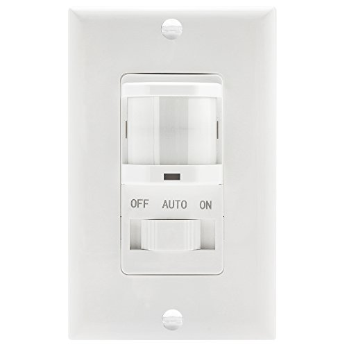 topgreener-tsos5-w-in-wall-pir-motion-sensor-light-switch-occupancy-sensor-switch-onoff-override-single-pole-fluorescent-500vamotor-18hpincandescent-500w-neutral-wire-required-white