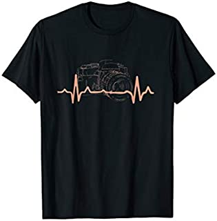 Camera Heartbeat  | Cute Love Photography shirt T-shirt | Size S - 5XL