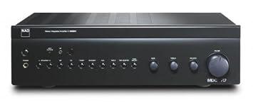 NAD C356BEE - Amplificador estéreo integrado (RMS 80 W)