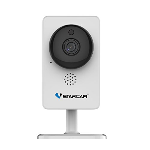 Cámara IP VSTARCAM C92S Fácil instalación, Detección de Movimiento, Visión de Nocturna, para Android y iOS - Blanco