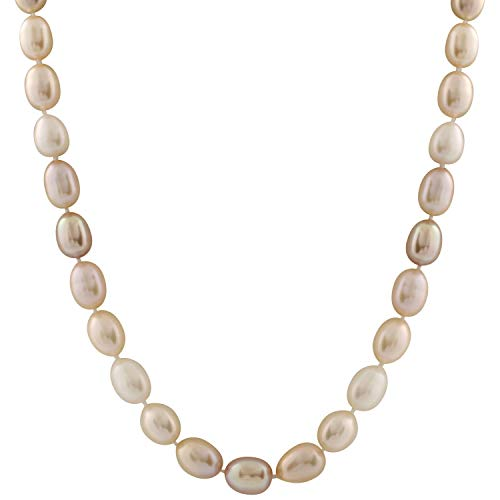 Handpicked AA Quality 10-11mm Multicolor Pastel Cream Pink Lavender Freshwater Cultured Pearl Strand 18