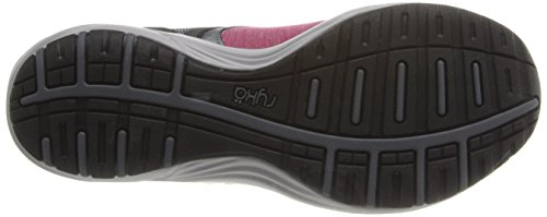 Maroon Chrome Walking Grey Black Dash Shoe Iron Bright Women's Stretch Silver Ryka xCwOvO