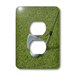 - 3dRose Lsp_72390_6 Dominican Republic, Bavaro, Punta Blanca Golf Club-Ca14 Jen0161 - Jim Engelbrecht 2 Plug Outlet Cover