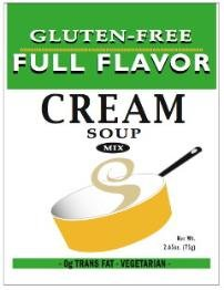 Full Flavor Foods: Gluten Free Cream Sauce Mix 2.65 Oz (8 Pack (Full Flavor Foods)