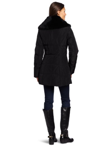 Blake Shawl Black Women's Coat Preminum Kristen Collar Uqdw6U