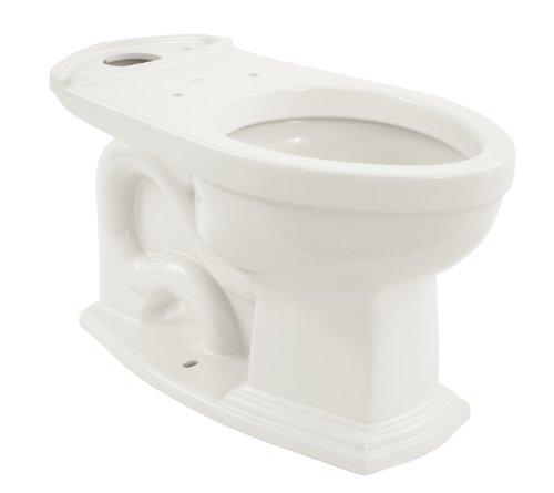 TOTO C784EF#01 Clayton ADA Compliant Elongated Bowl, Cotton (Clayton Toilet Bowl)
