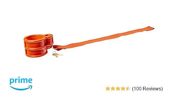Eagle Pin Locks Ku-1 Trailer King Pin Lock for RVs Boats and Campers Orange